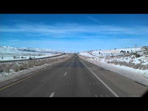 Nephi, Utah on Interstate 15