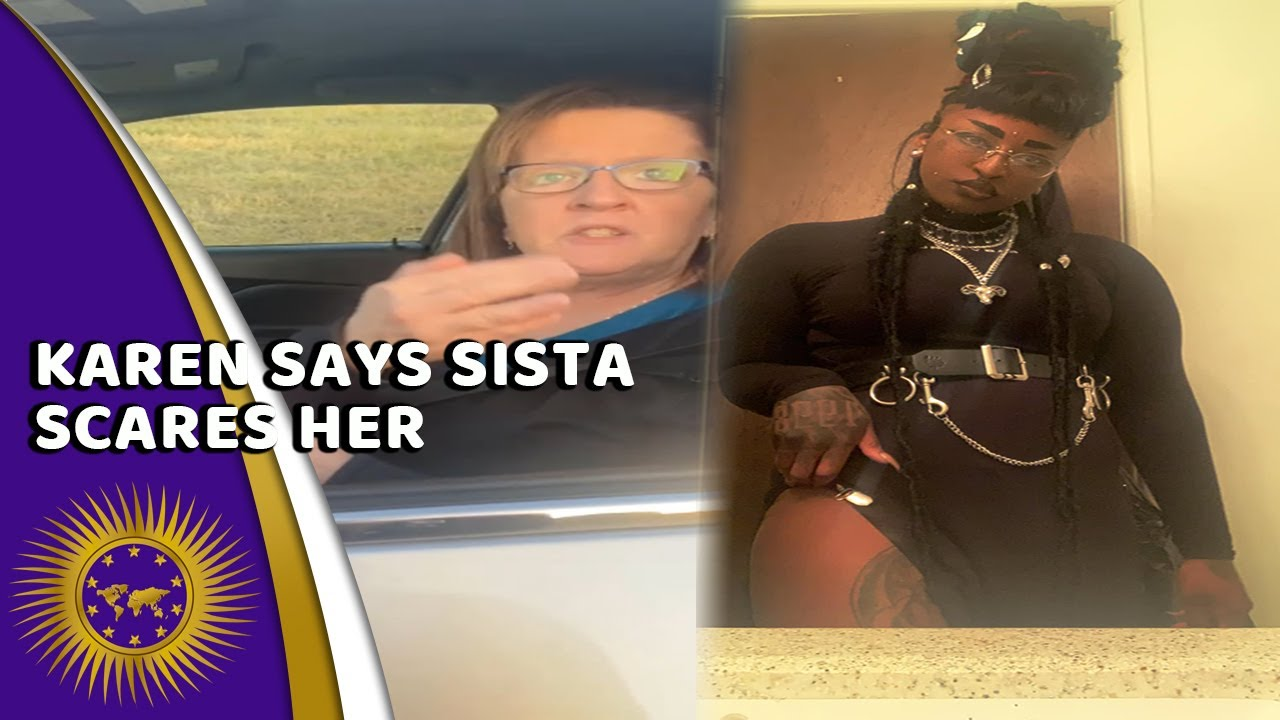 Karen Says A Sista's Appearance Scares Her After Refusing To Give Insurance In A Fender Bender