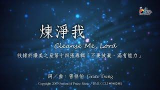 煉淨我 Cleanse Me, Lord 敬拜MV - 讚美之泉敬拜讚美專輯 (14) 不要放棄,滿有能力