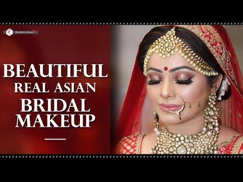 Elegant Makeup For Indian Wedding | Asian Bridal Makeup Tutorial | Indian Brides | Real Bride Makeup
