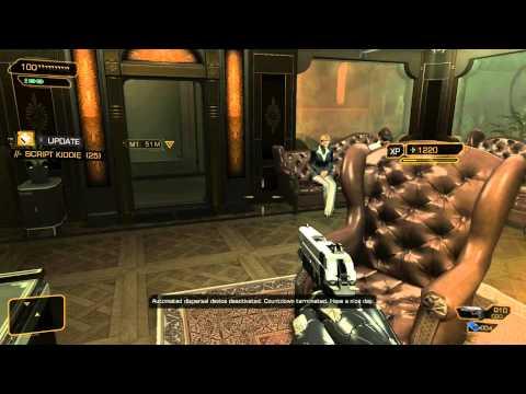 Lets Play Deus Ex Human Revolution Ep 2 Part 2