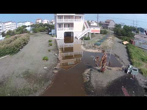 Hurricane Arthur Destruction Hatteras Island
