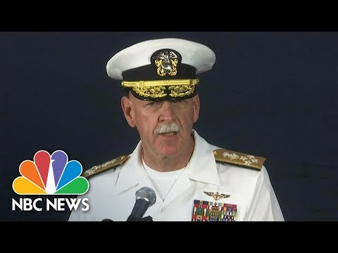 See Pacific Fleet Commander Describe How Crew Responded To Warship Collision!