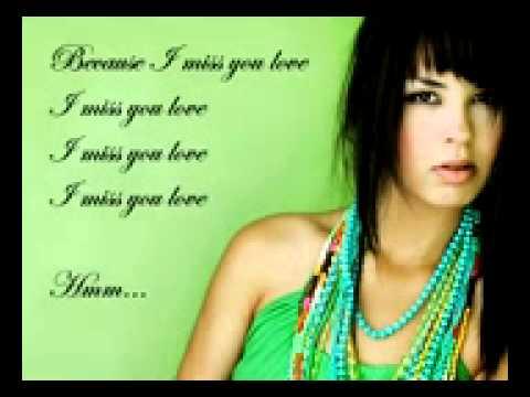 Miss You Love - Maria Mena Instrumental Remake - Karaoke