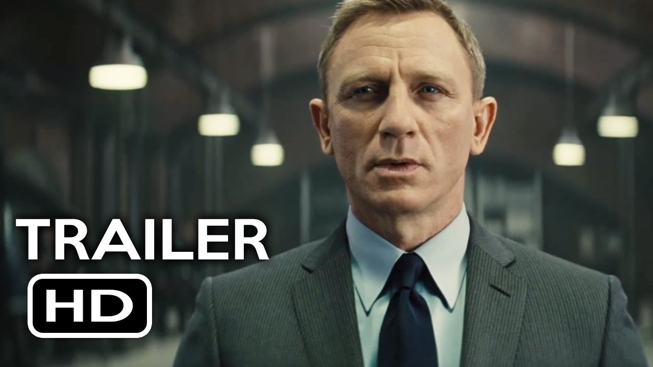 007 spectre official trailer 2 2015 daniel craig james
