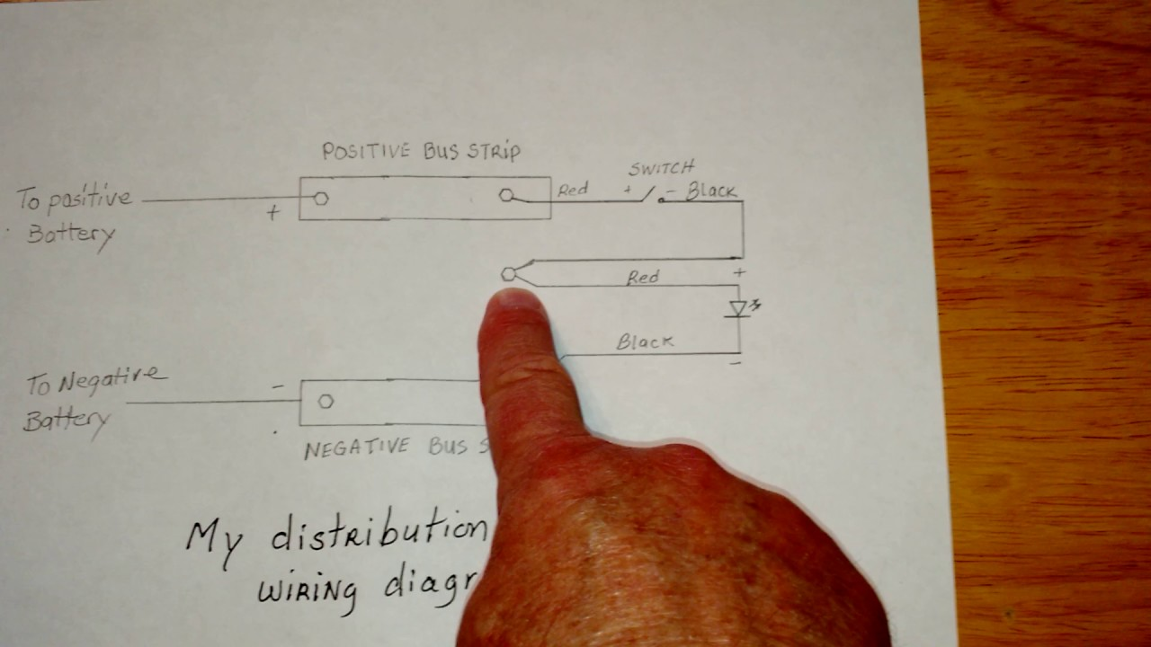 Wiring diagram of my distribution box - YouTube