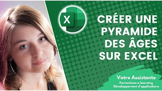 Créer une pyramide des âges sur Excel