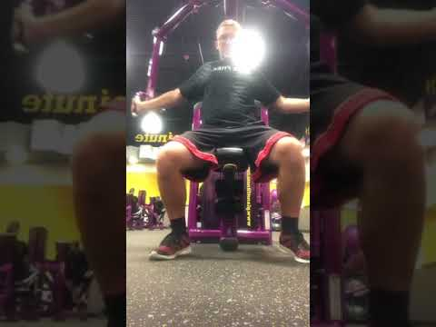 Graeginator getting my Work Out at Planet Fitness in Hammond, IN