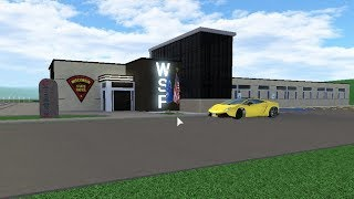 Roblox Greenville: The New WSP Police Station Was Added To The Game By Mistake While In Progress!