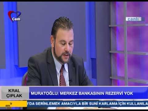 """Muratoğlu, """"Merkez Bankasının Rezervi Yok!"""""""