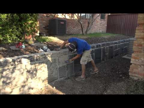 concrete-carved-retaining-wall-dallas-fort-worth-texas
