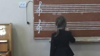 Сольфеджио 1 класс 3