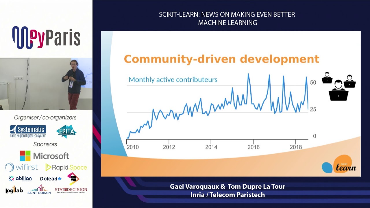 Image from Scikit-learn: news on making even better machine learning