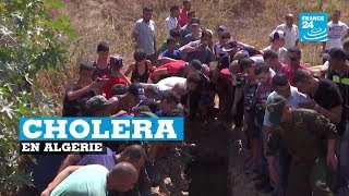 Épidémie de cholera en Algérie