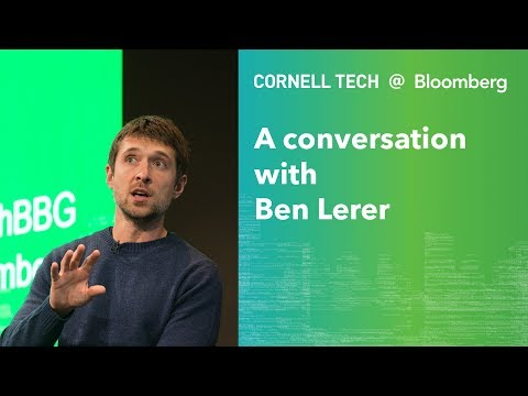 Bloomberg Cornell Tech Series: A Conversation with Ben Lerer ...