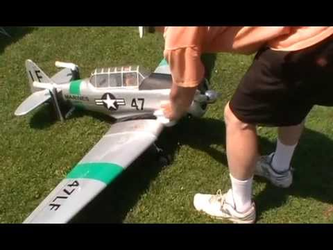 Daves 25% Scale T6 with 26cc Zenoah Engine