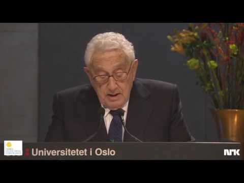 Henry Kissinger defends Realism