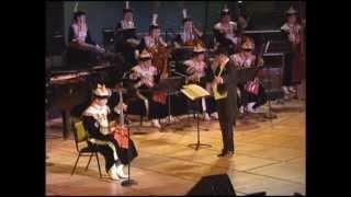 Csárdás by Vittorio Monti. Morinkhuur solo by Jigjiddorj N.