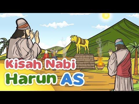 Kisah Nabi Harun AS dan Patung Anak Sapi - Kartun Anak Muslim