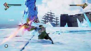 Jump Force haciendo las ultimas misiones en directo