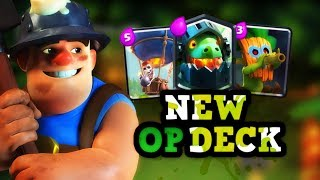 MUST SEE New Meta Deck by Pompeyo in Clash Royale :: Miner Loon Inferno Dragon!