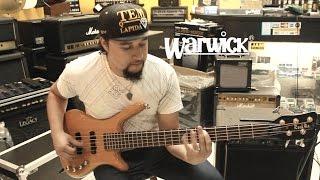 Warwick Rock Bass - demonstração com Gesse Bass