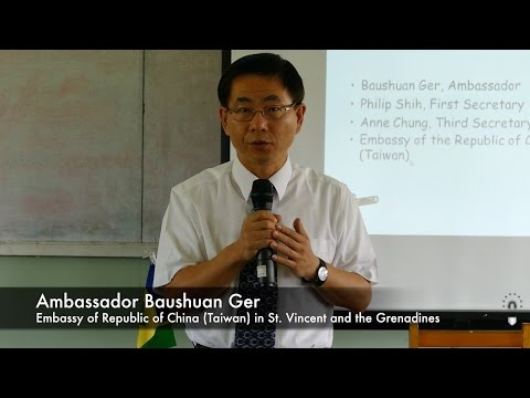 Taiwan Scholarship Presentation 2015
