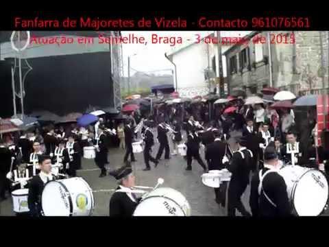 Fanfarra de Majoretes de Vizela em Semelhe, Braga / 2015
