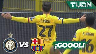 ¡Apareció Carles Pérez! | Inter de Milán 0 - 1 FC Barcelona | Champions League - J 6 - Grupo F | TUD