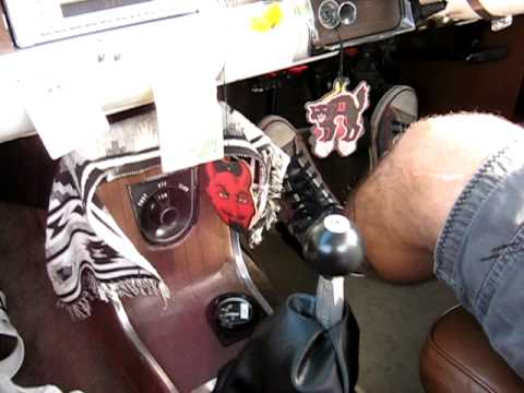 Holden HR sequential shifter