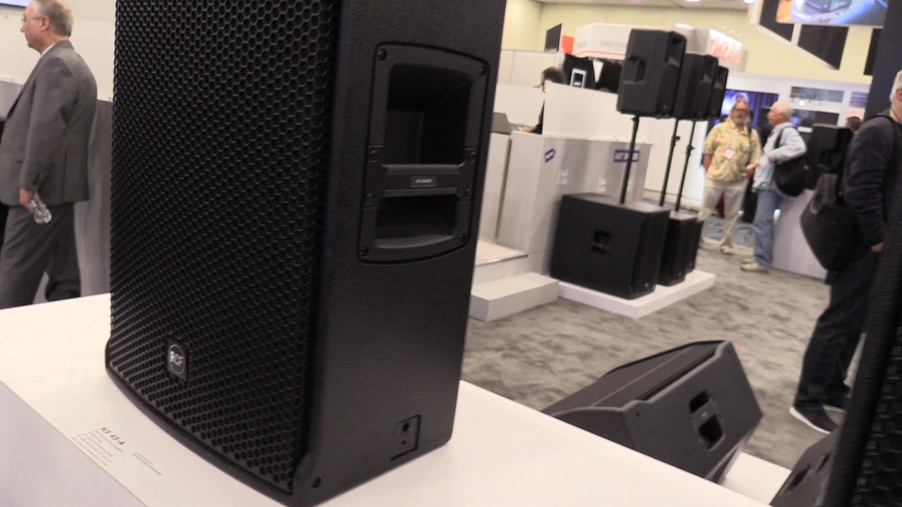 RCF NX Series Active Loudspeakers Overview at NAMM 2018
