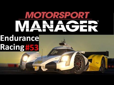 Motorsport Manager Lets Play #53 - Season 6 Race 2 - Endurance Gameplay