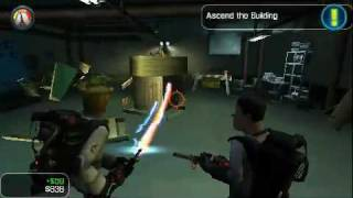 Ghostbusters - The Videogame PSP Gameplay