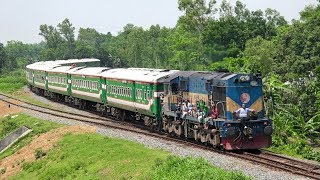 PT INKA, Indonesia built Nilsagar Express pulled by DLW, India…