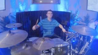 No Longer Slaves  - Live Worship (Drum & Guitar Cover)