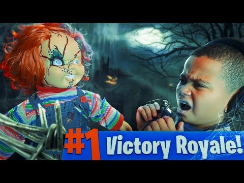 10 YEAR OLD KID GETS SCARED BY CHUCKY DOLL WHILE PLAYING FORTNITE PRANK!!! (GONE WRONG!)   MindOfRez