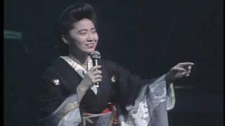 1987年10月の映像 「波止場しぐれ」 作詞:吉岡治、作曲:岡千秋.