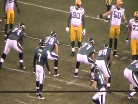 Eagles Vs Packers 2010 playoffs 3