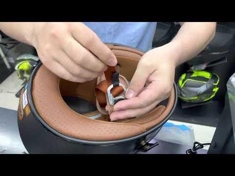 Hướng dẫn sử dụng mũ bảo hiểm khoá D-ring