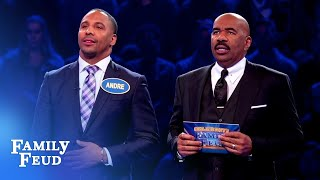 It's a KNOCKOUT! The Maulers destroy Fast Money! | Celebrity Family Feud