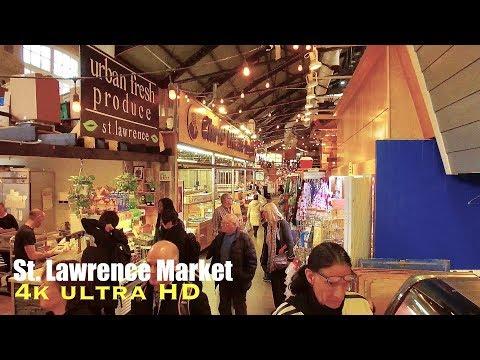 St Lawrence Market In 4k (walking Tour) Toronto Canada