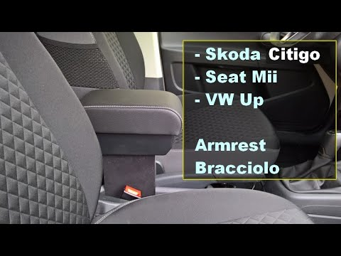 skoda citigo seat mii volkswagen up armrest. Black Bedroom Furniture Sets. Home Design Ideas