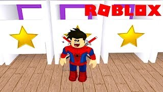 SHOPPING IN ROBLOX ESCAPE THE MALL OBBY