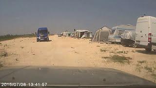 Арабатская стрелка 2015 кемпинг(Кемпинг на Арбатке у моря., 2015-07-14T08:55:20.000Z)