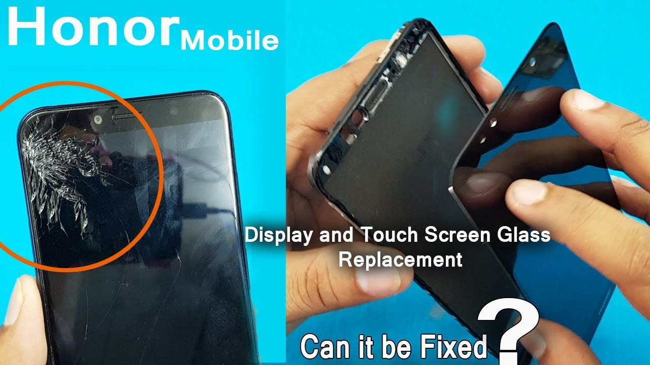 Huawei Honor 7A Display and Touch Screen Glass Replacement || Honor 7A LCD  Screen replacement