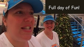 Exploring the Ship Together! Norwegian Escape Group Cruise Vlog [ep7]