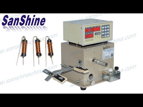 SS100A SS100B SMT or SMD inductor or drum core coil winding machine