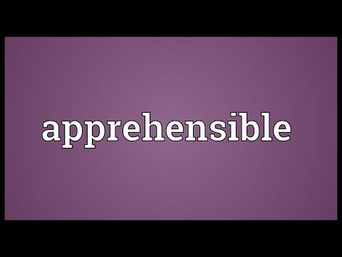 Header of apprehensible