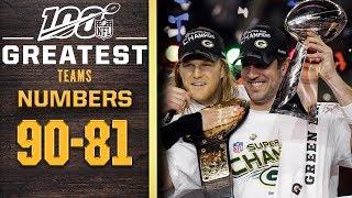 100 Greatest Teams: Numbers 90-81 | NFL 100