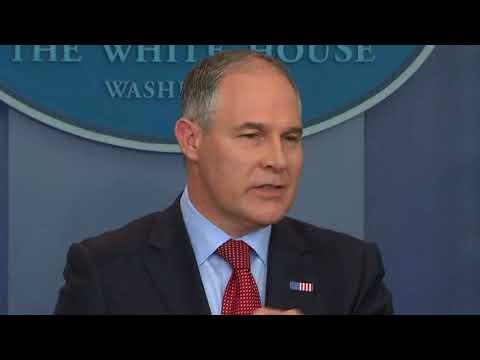 EPA Pulls Agents From Investigations To Guard Pruitt  Politics